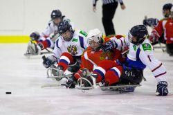 На РУТБ «Ока» в г. Алексине (Тульская область) заврешился второй, финальный круг чемпионата России по хоккею-следж сезона 2014-2015 годов