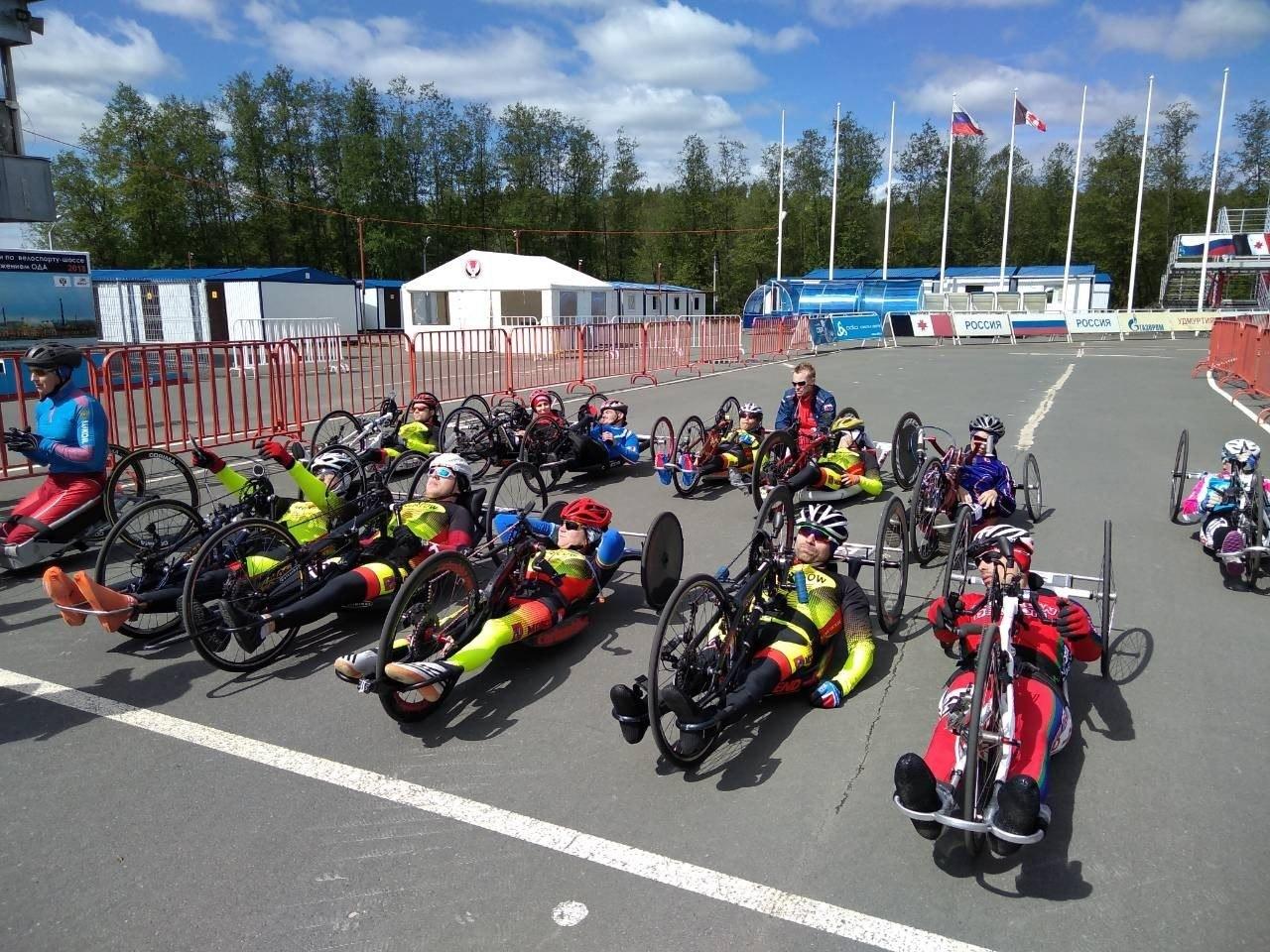 В г. Ижевске (Удмуртская Республика) завершились старты чемпионата России по велоспорту-шоссе среди лиц с поражением опорно-двигательного аппарата.