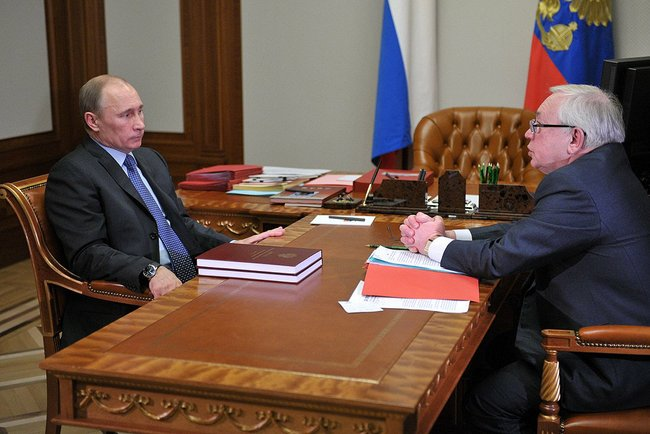 В  г. Сочи состоялась встреча Президента России Владимира Путина и президента Паралимпийского комитета России Владимира Лукина