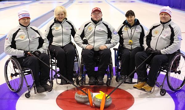 Сборная команда России по керлингу на колясках одержала 3 победы на старте чемпионата мира в Финляндии