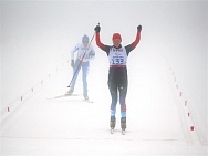 Members of the Russian National Women Biathlon Team had won gold and bronze medals at 10 km run