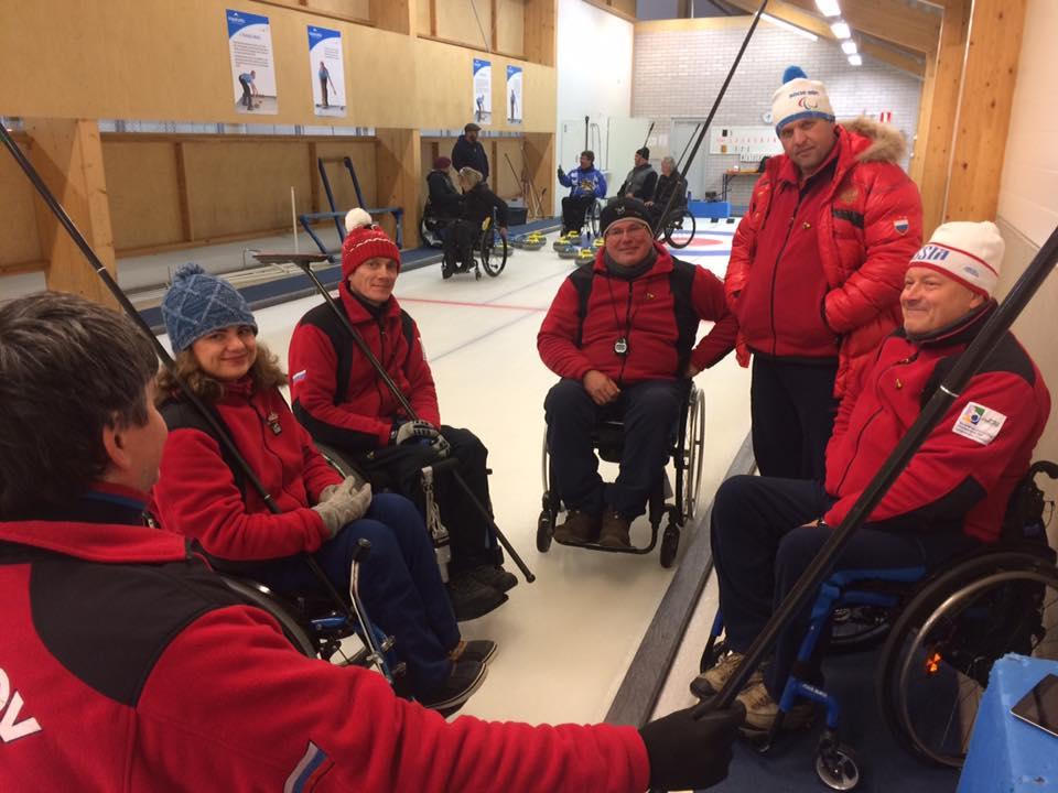 Сборная России по керлингу на колясках выиграла матчевую встречу у команды Финляндии на старте мирового тура в рамках подготовки к Паралимпийским играм-2018