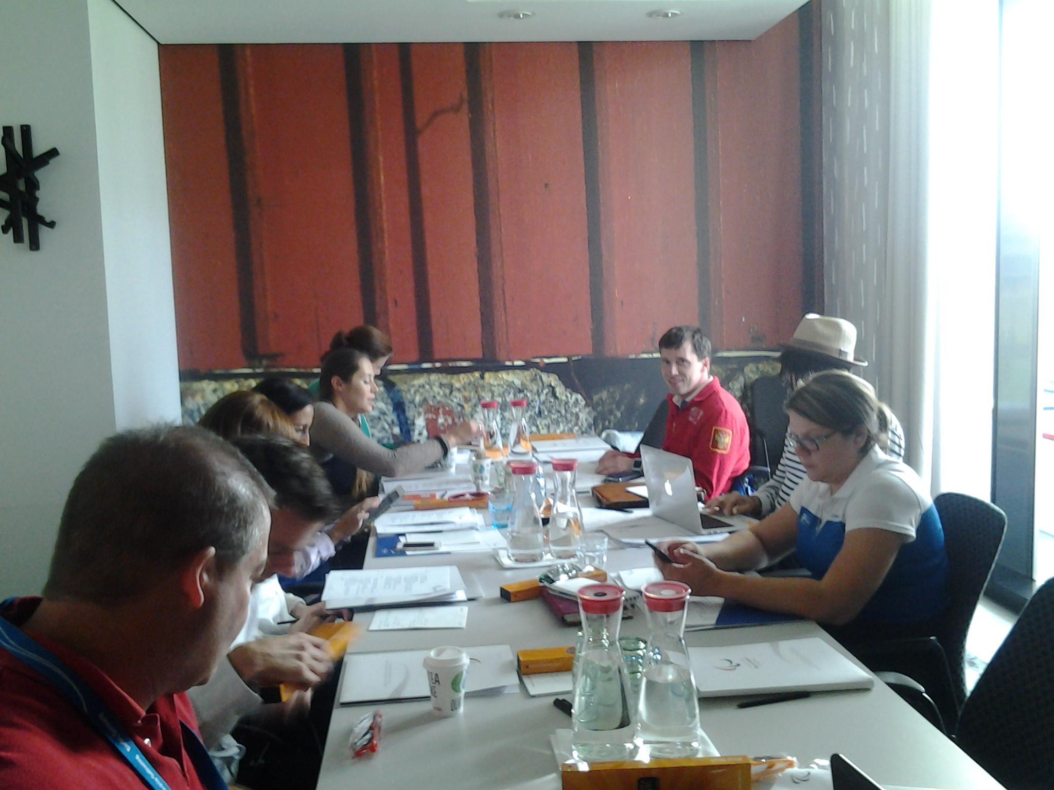 М.Б. Терентьев в г. Берлине (Германия) принял участие в заседании Совета спортсменов Международного паралимпийского комитета