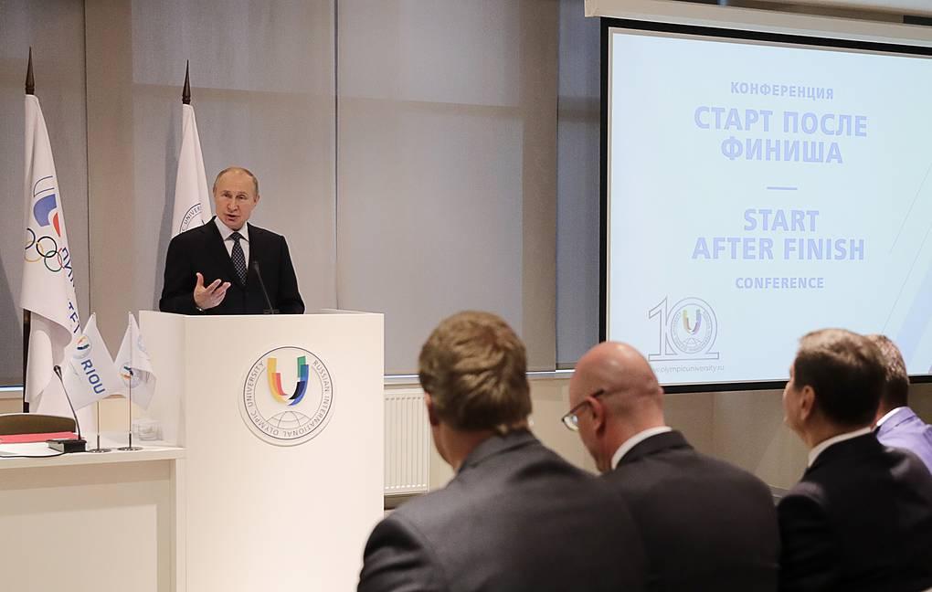 ТАСС: Путин поддержал выделение квот для паралимпийцев в олимпийском университете в Сочи