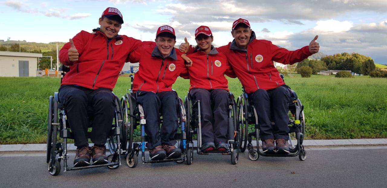 Сборная команда России по керлингу на колясках принимает участие в международном турнире «WCT Wetzikon Wheelchair Curling Tournament 2019» в Швейцарии