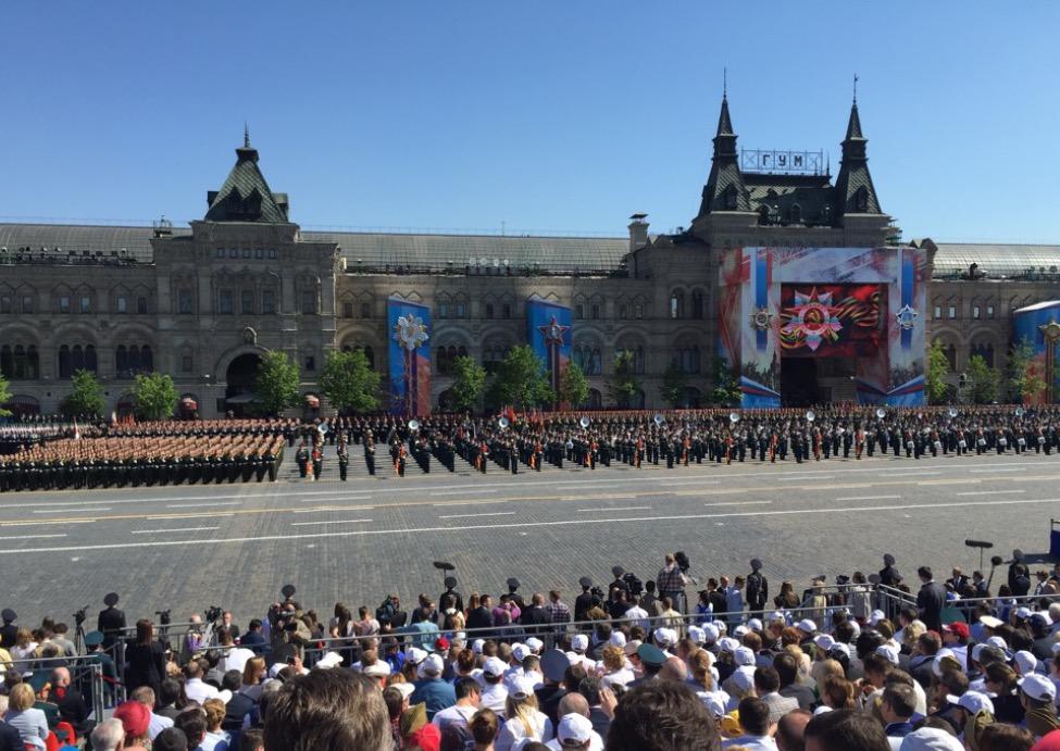В.П. Лукин, П.А. Рожков, В.А. Бочаров в г. Москве на Красной площади в качестве почетных гостей приняли участие в просмотре военного парада в честь 71-ой годовщины Победы в Великой Отечественной Войне