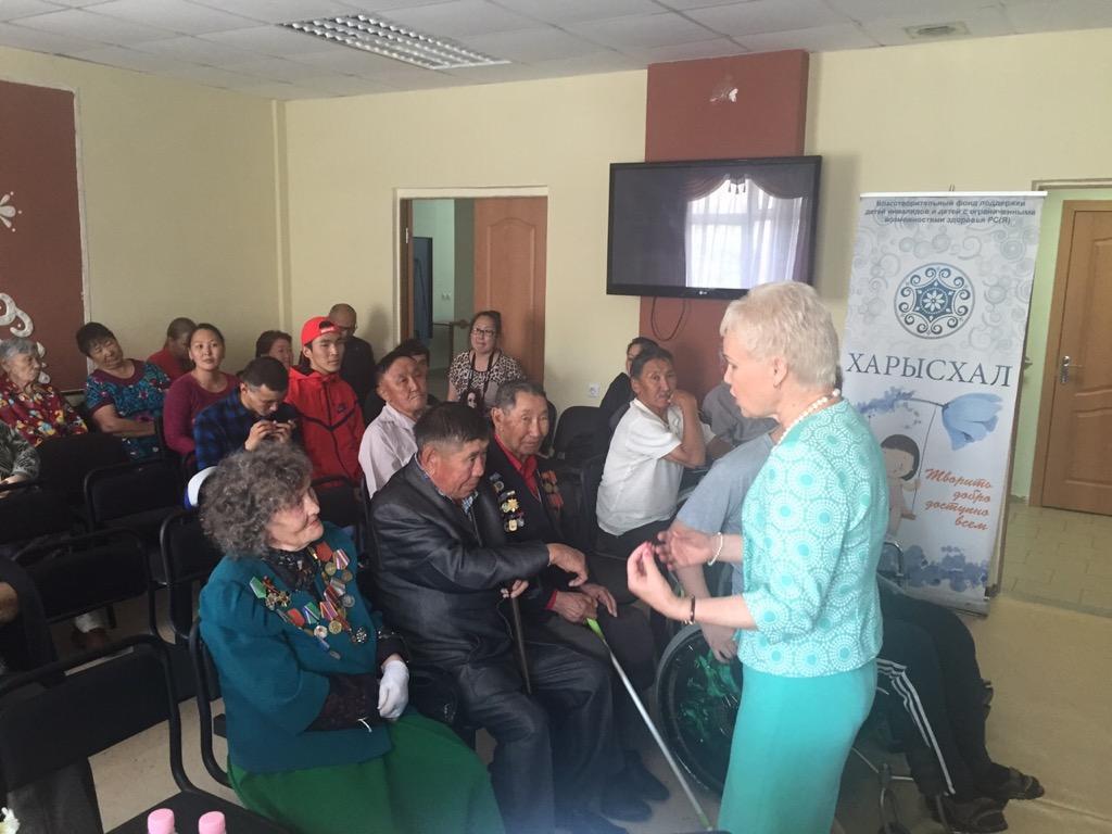 25 июня Р.А. Баталова встретилась с паралимпийцами в Республике Саха-Якутия