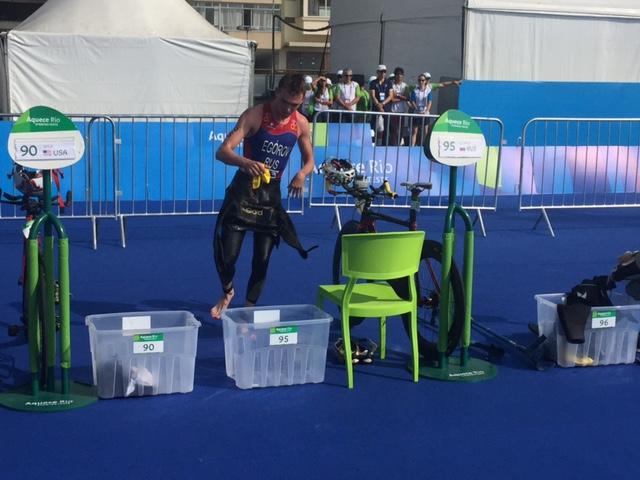 Российский триатлонист Василий Егоров стал победителем тестовых соревнований XV летних Паралимпийских игр 2016 года, прошедших в Рио-де-Жанейро