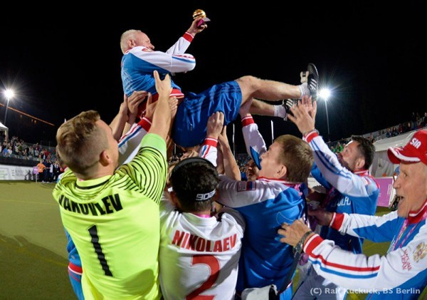 Александр Ерастов: сборная России выиграла чемпионат Европы по мини-футболу 5х5 В1 за счет командной игры и бойцовского характера