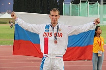 #trainingtogether with bronze medalist of the World championships, European champion in Para Athletics among PI Athletes Andrey Poroshin