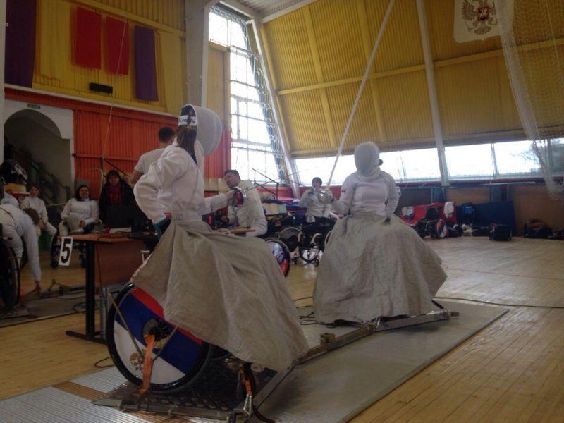 В г. Уфе завершился Кубок России по фехтованию на колясках