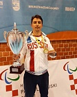 #trainingtogether with the Paralympic Games bronze medalist, two time European champion, captain of the Russian National Sitting Volleyball Team Aleksander Savichev