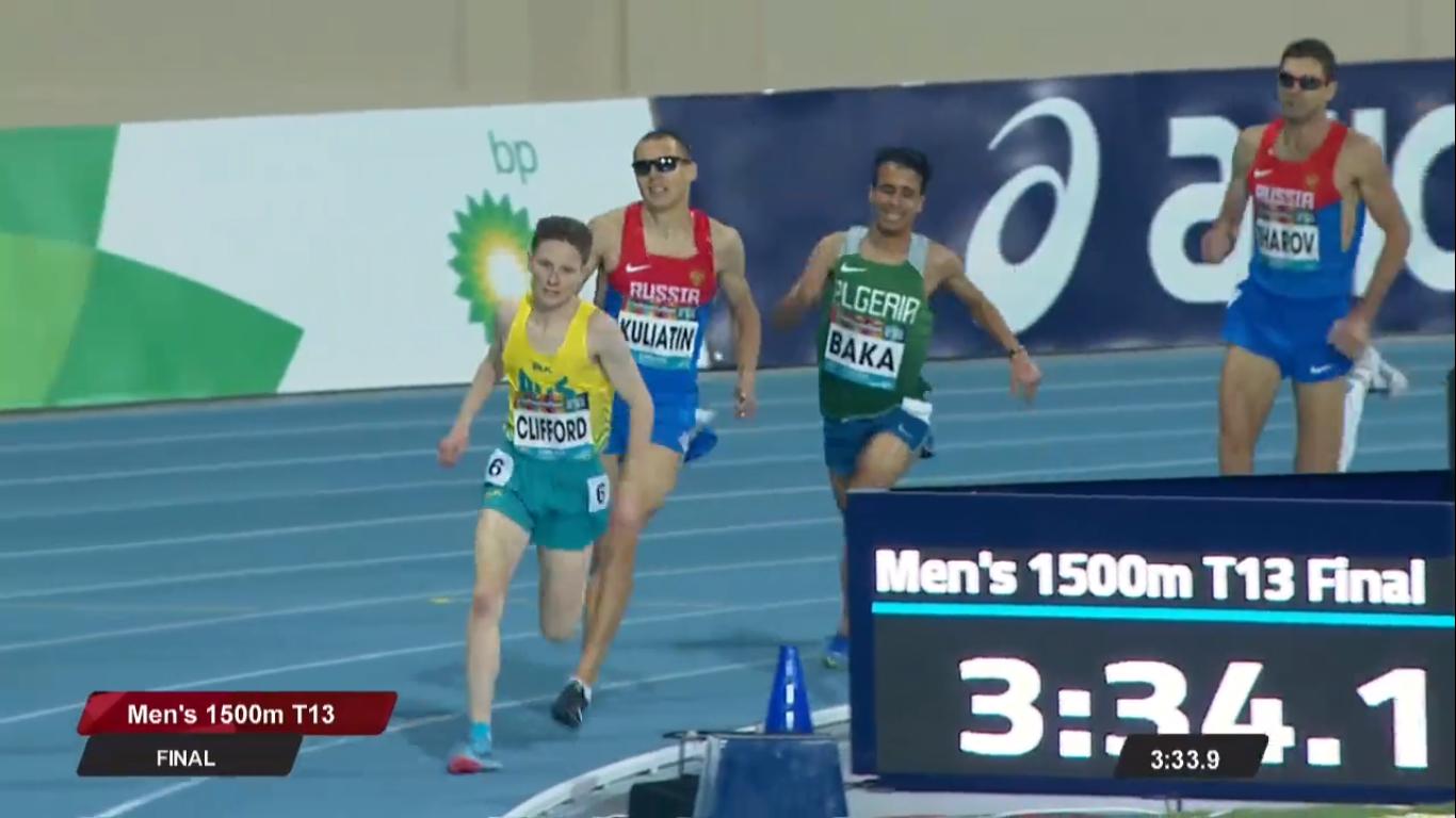 Антон Кулятин и Александр Яремчук завоевали награды в первый день чемпионата мира по легкой атлетике МПК в Дубае