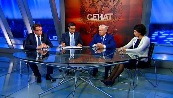 А.А. Строкин принял участие в программе «Сенат» телеканала «Россия 24» на тему недопустимости политизации спорта