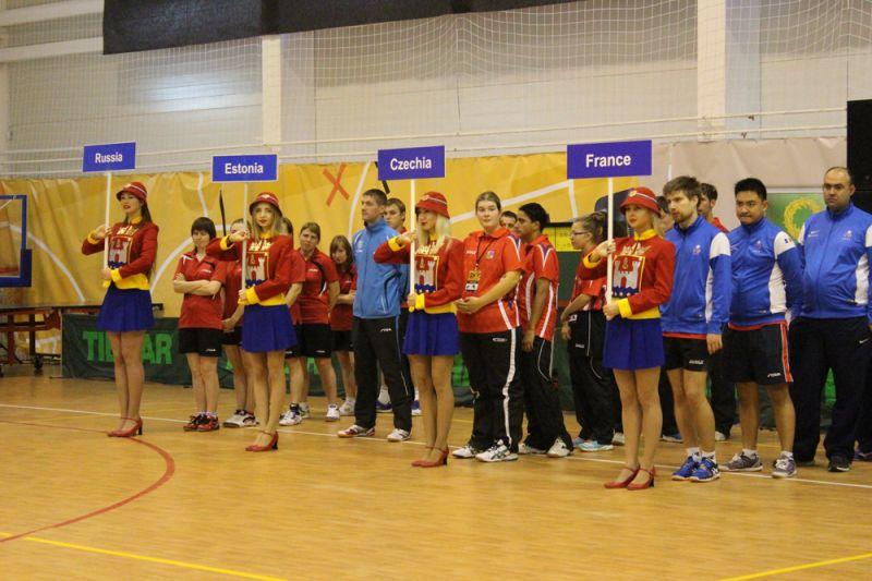 Российские  спортсмены выиграли 12 медалей на чемпионате Европы по настольному теннису спорта ЛИН в Калининградской области