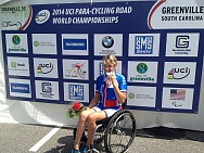 #trainingtogether with the Paralympic Games bronze medalist, winner and repeated prize winner of the World championships in Para Cycling among PI Athletes Svetlana Moshkovich