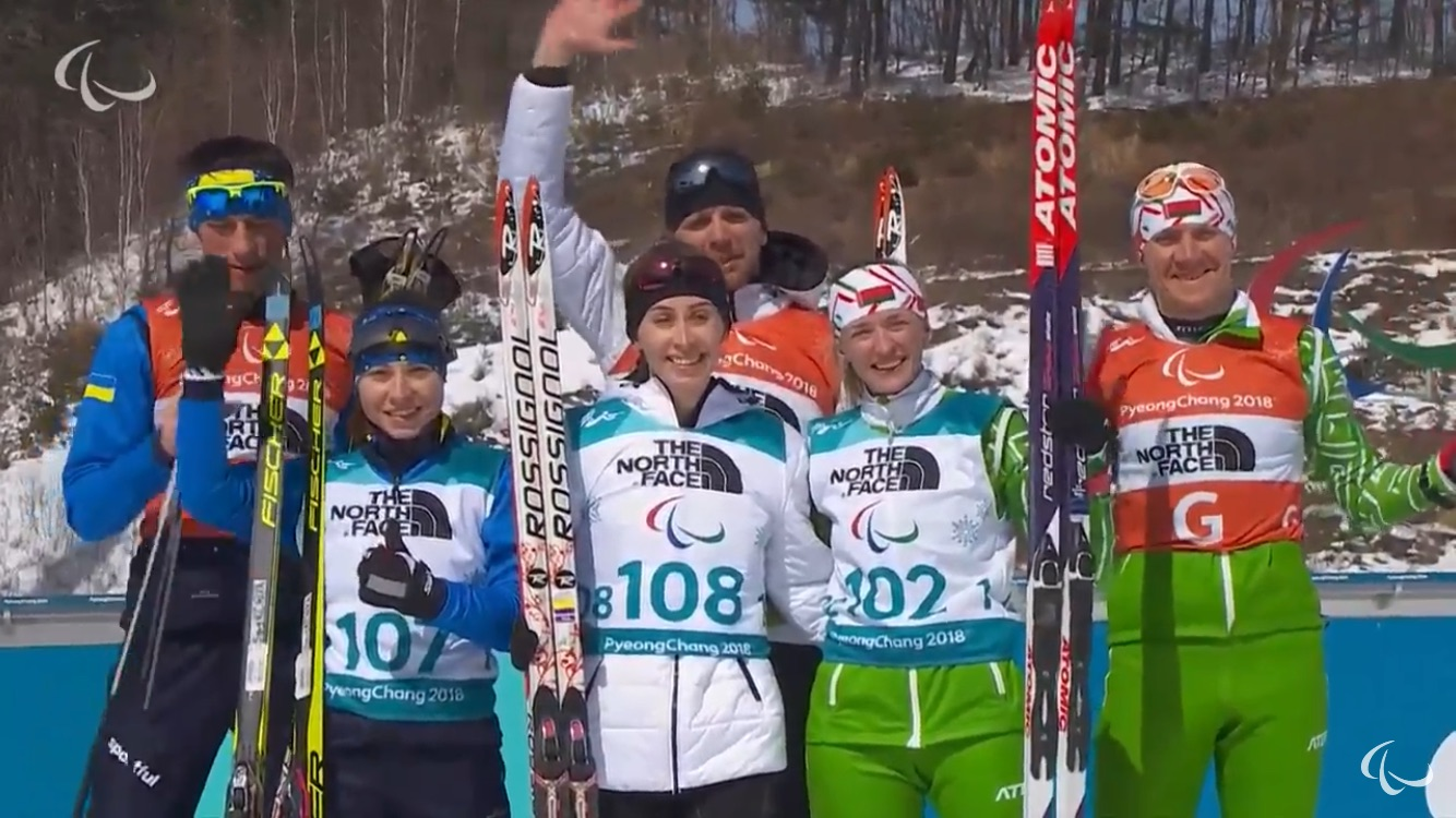 Паралимпиада-2018. 1 день. Михалина Лысова завоевала золотую медаль в биатлоне на 6 км