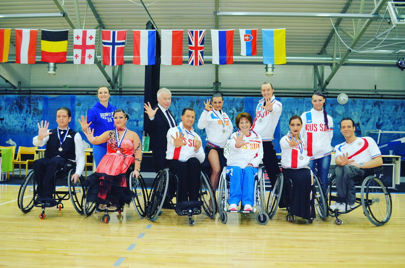 Россияне держали четыре победы в танцах на колясках на международном турнире в Финляндии
