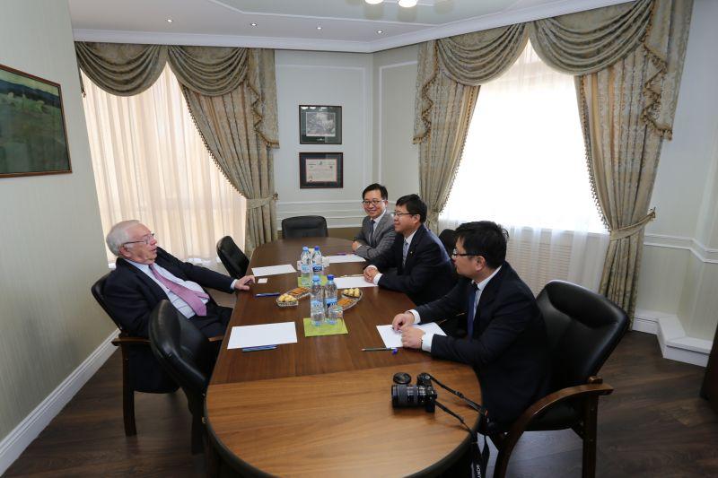 В.П. Лукин в Офисе ПКР провел рабочую встречу с руководителями Китайского общества дружбы с зарубежными странами