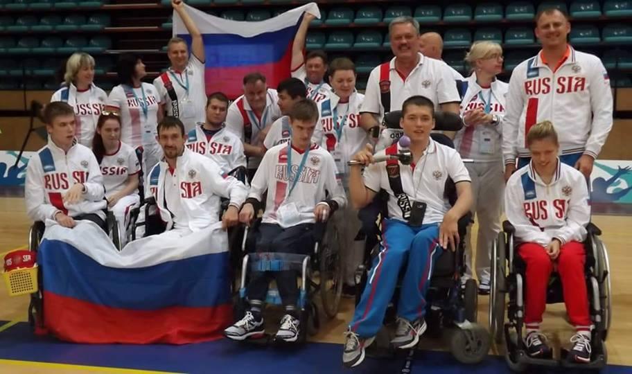 2 серебряные и 1 бронзовую награды завоевала сборная команда России по бочча на международном турнире в Португалии