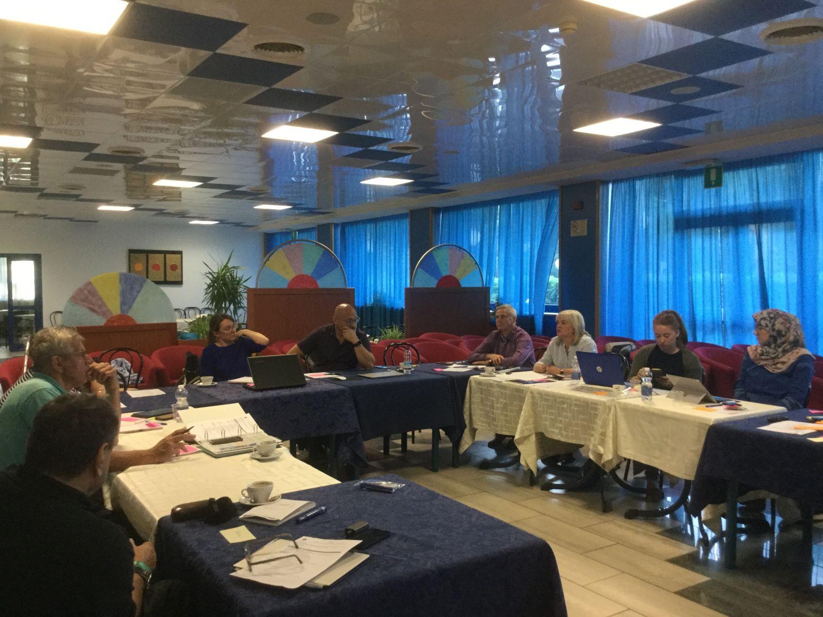 П.А. Рожков в г. Линьяно-Саббьядоро (Италия) принял участие в совещании членов Исполкома IWAS по вопросам стратегического планирования деятельности организации 2019-2023