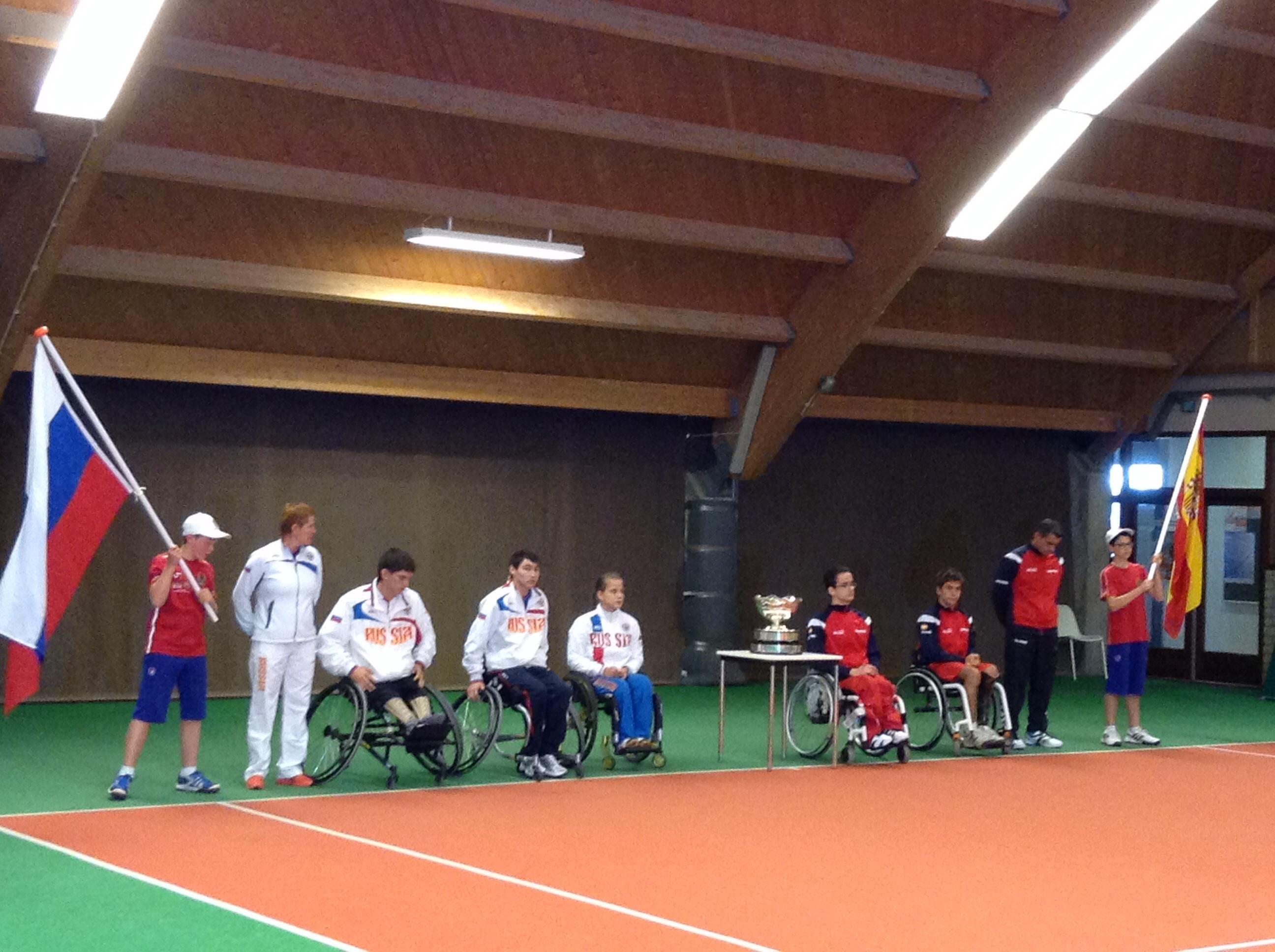 Молодежная сборная команда России по теннису на колясках завоевала первый чемпионский титул на командном Кубке мира в Нидерландах