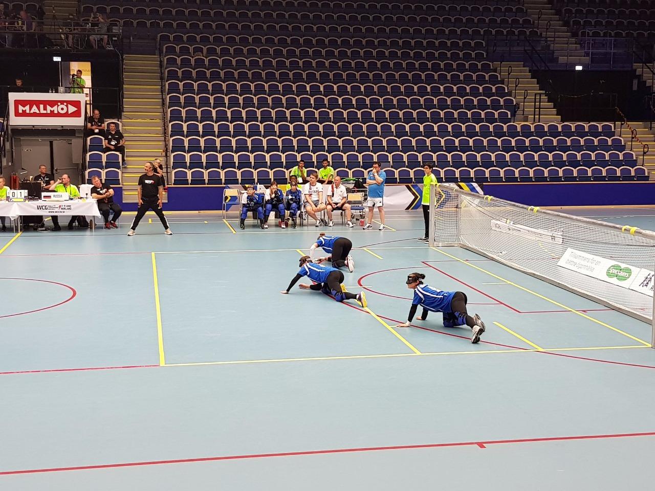 Женская сборная команда России по голболу спорта слепых выиграла чемпионат мира в Швеции
