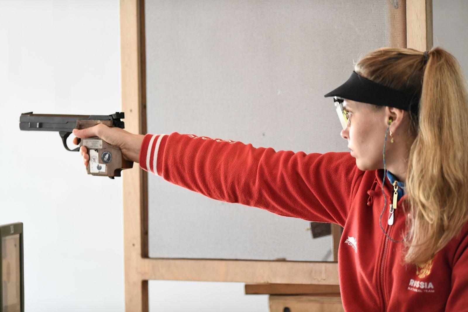 Сборная команда России завоевала бронзовую медаль в третий день чемпионата мира МПК по пулевой стрельбе
