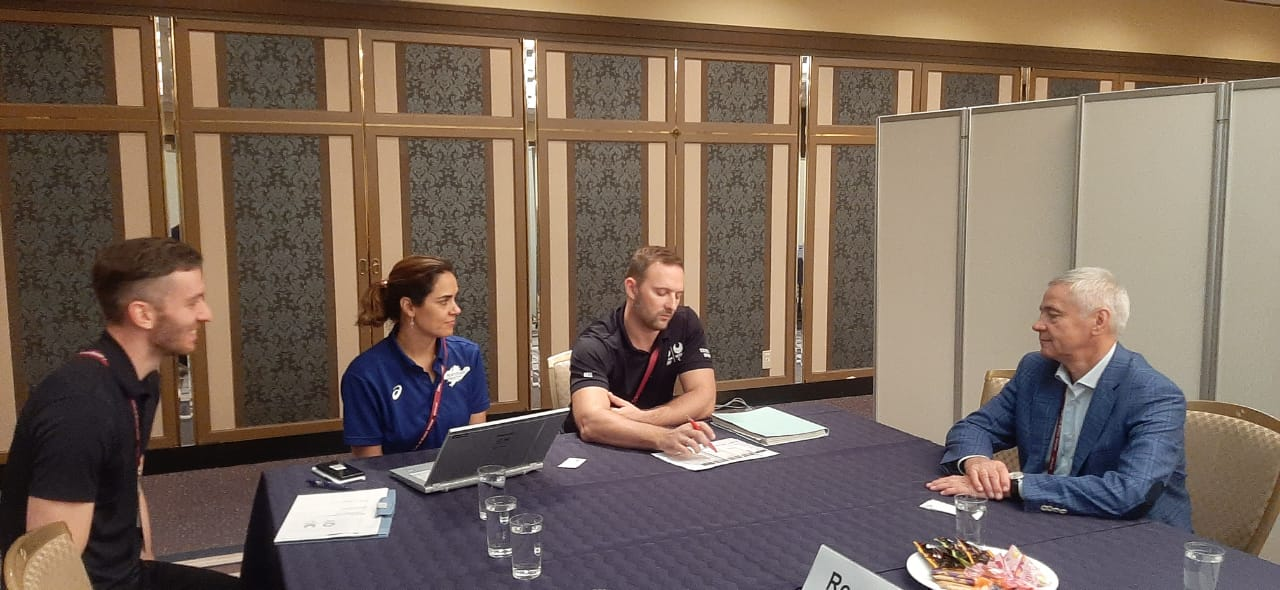 П.А. Рожков в г. Токио (Япония) принял участие в третьем дне семинара Шефов миссии национальных сборных команд XVI Паралимпийских летних игр 2020 года в г. Токио (Япония)