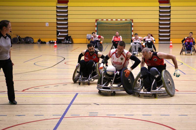 Сборная команда России заняла четвертое место на крупном международном турнире по регби на колясках в Голландии