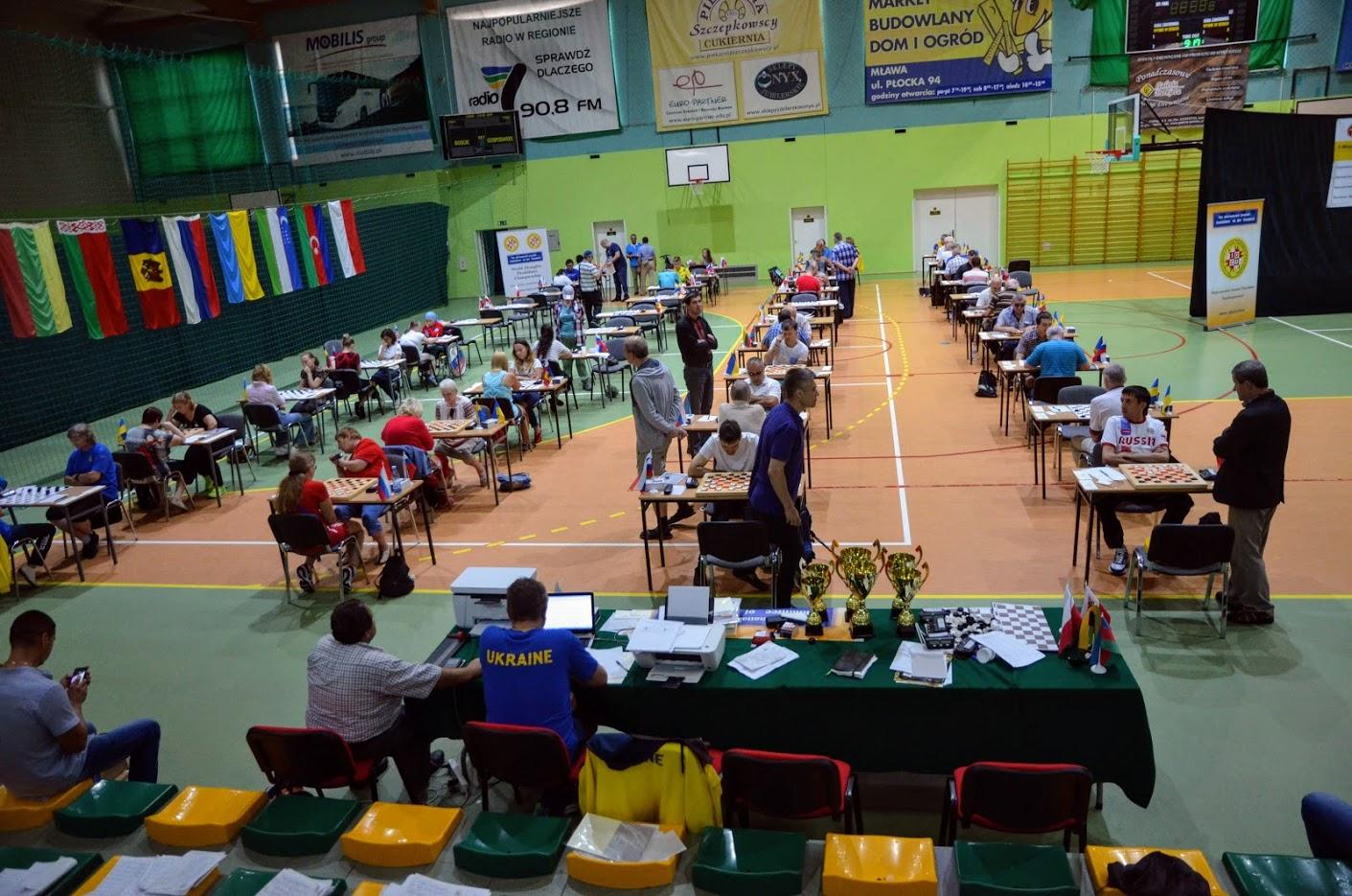 В Польше завершились чемпионат и первенство мира по шашкам среди спортсменов с ограниченными возможностями здоровья