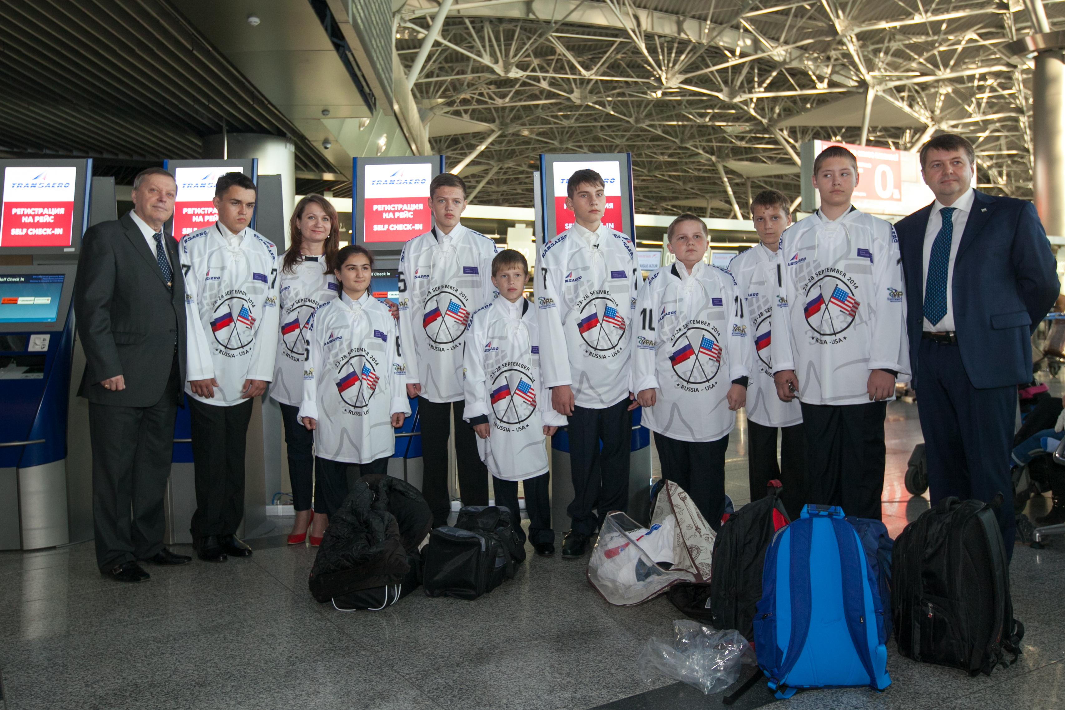 В США юношеская команда по хоккею - следж «Ладога» г. Алексин (Тульская область) завершила свое выступление в Североамериканских турнирах