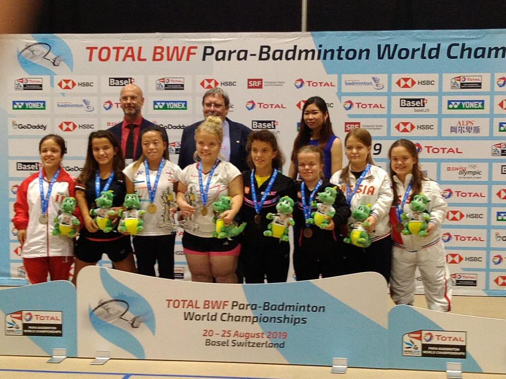 Сборная команда России по парабадминтону завоевала бронзовую медаль на чемпионате мира в Швейцарии