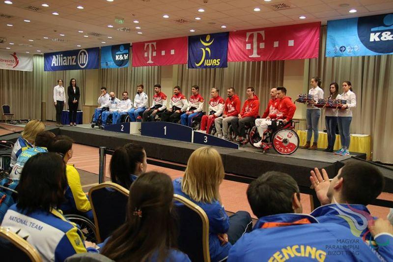 2 золотые 2 серебряные и 7 бронзовых медалей завоевали российские спортсмены на Кубке мира по фехтованию на колясках в Венгрии