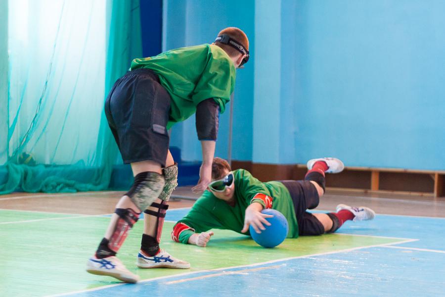 Сборные Тульской области и Новосибирской области в Раменском стали чемпионами России по торболу спорта слепых