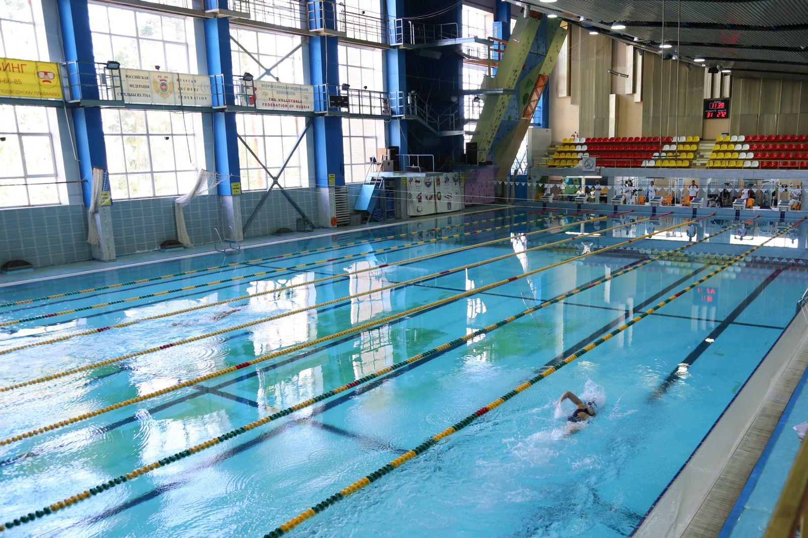 В г. Раменском в бассейне Спортивно-оздоровительного комплекса «Сатурн» пройдет чемпионат России по плаванию спорта слепых