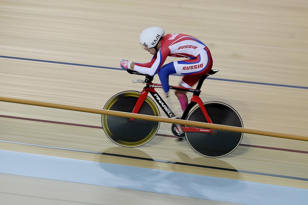 Арслан Гильмутдинов завоевал бронзовую медаль в первый день чемпионата мира по паравелоспорту на треке