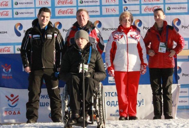 В г. Сочи стартовал чемпионат  России по лыжным гонкам и биатлону среди спортсменов с поражением опорно-двигательного аппарата и нарушением зрения - тестовое соревнование к проведению Паралимпийских зимних игр 2014 года в г. Сочи