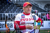 #trainingtogether with the repeated prize winner of the World championships in Para Archery among PI Athletes Tatyana Andrievskaya
