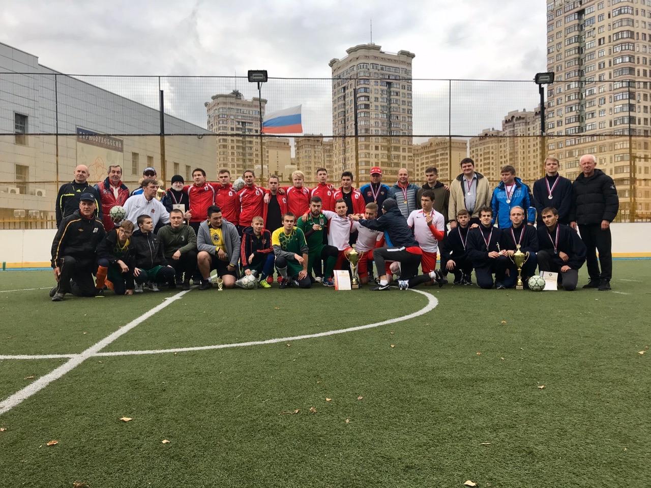 Московская команда «Олимп РГСУ» стала победителем первенства России по мини-футболу 5х5 класс В1 (тотально-слепые спортсмены)