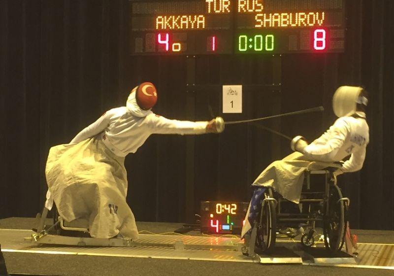 Сборная России одержала убедительную командную победу на молодежном первенстве мира по фехтованию на колясках в Голландии