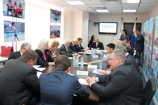 П. А. Рожков в офисе ПКР провел заседание Исполкома ПКР
