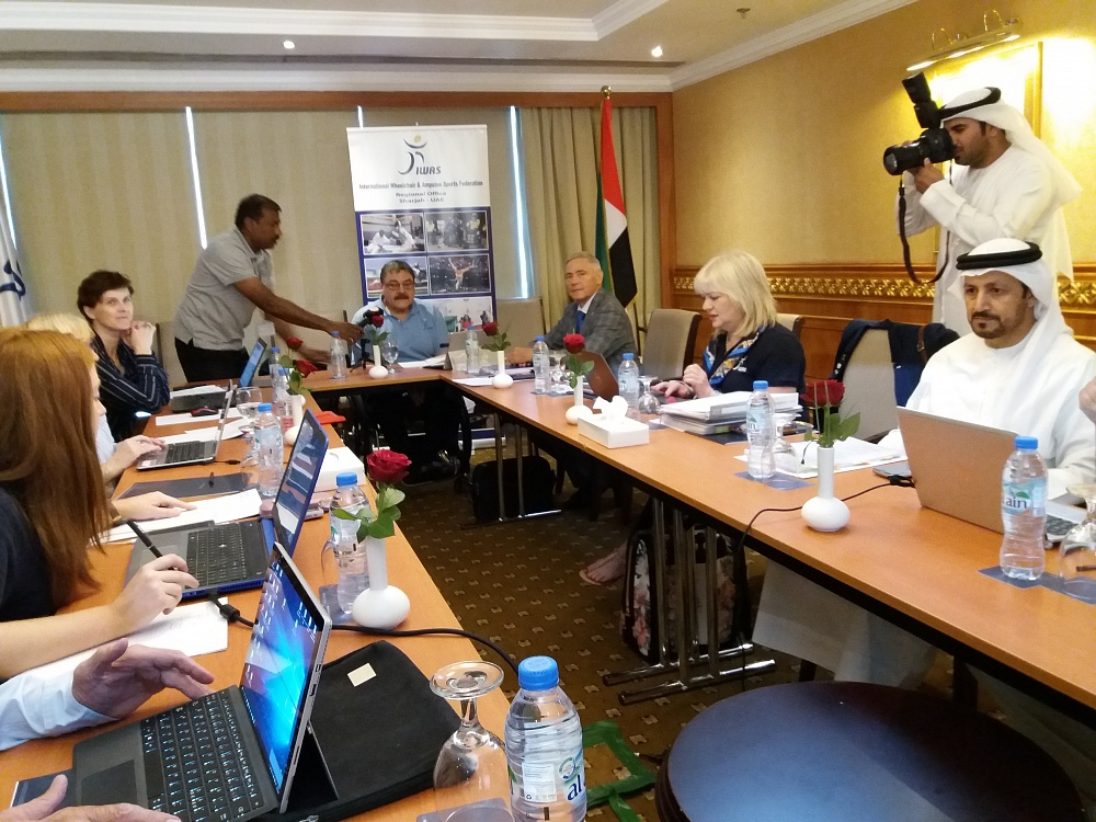 Pavel Rozhkov took part at IWAS Executive Board meeting in Sharjah, UAE