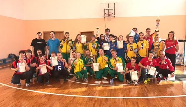 Сборные команды Краснодарского края стали победителями первенства России по торболу спорта слепых