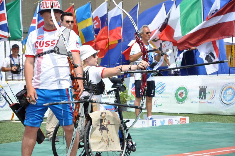 Российские лучники завоевали четыре золотые медали и второе общекомандное место на первом этапе Кубка Европы в Италии