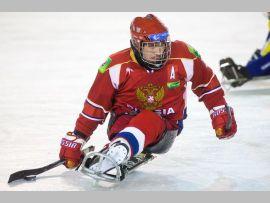 Сборная команда России по хоккею-следж обыграла сборную Норвегии в полуфинальном матче со счетом 4:0
