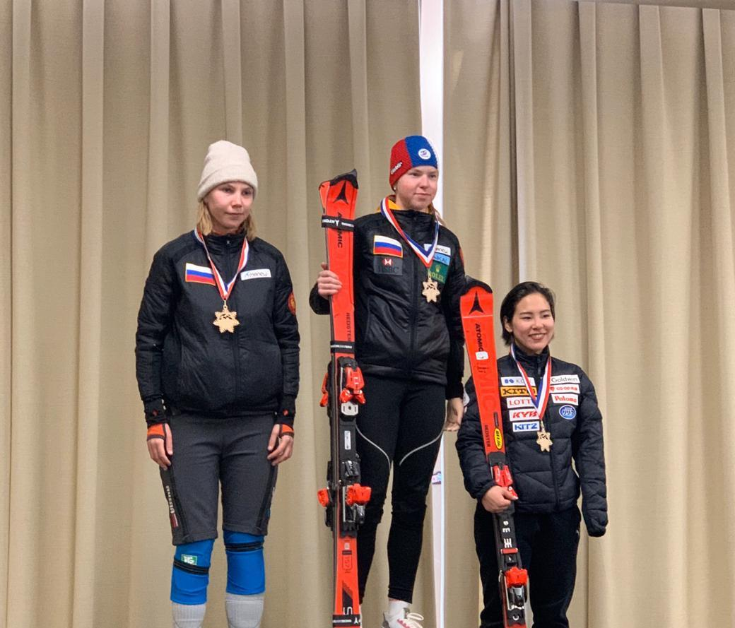 Сборная команда России по горнолыжному спорту лиц с ПОДА завоевала 9 золотых и 2 серебряные медали на Кубке Северной Америки