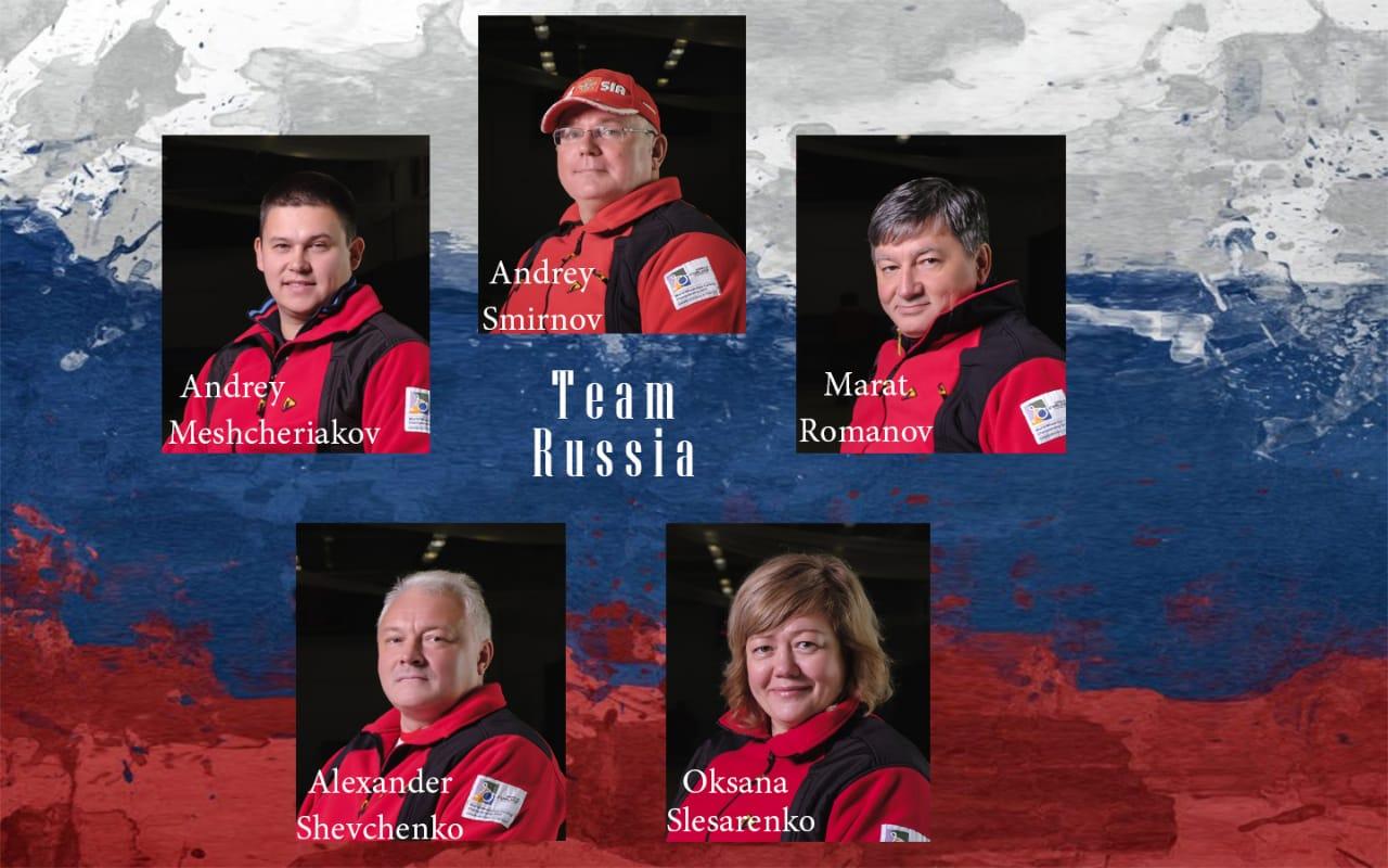 Сборная команда России по керлингу на колясках приняла участие в первом этапе турнира Euro Super League