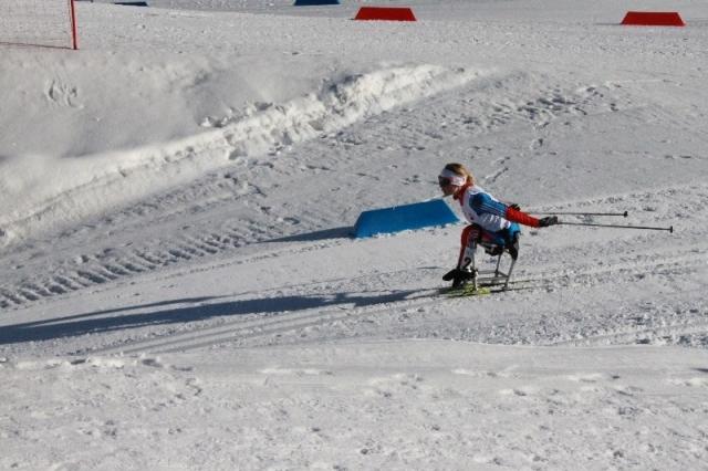 Результаты первого соревновательного дня чемпионата России по лыжным гонкам и биатлону среди спортсменов с поражением опорно- двигательного аппарата и нарушением зрения  в г. Сочи