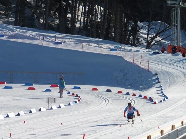 Результаты второго  соревновательного дня чемпионата России по лыжным гонкам и биатлону среди спортсменов с поражением опорно- двигательного аппарата и нарушением зрения в г. Сочи